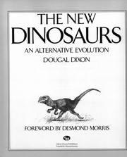 Cover of: The new dinosaurs: an alternative evolution