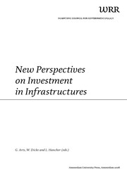 Cover of: New perspectives on investment in infrastructures | G. Arts