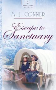 Cover of: Escape to sanctuary | M. J. Conner