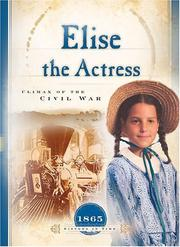Cover of: Elise the Actress
