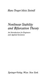 Cover of: Nonlinear stability and bifurcation theory | H. Troger