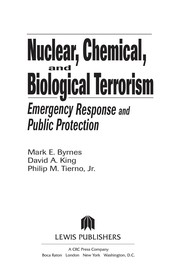 Cover of: Nuclear, chemical, and biological terrorism