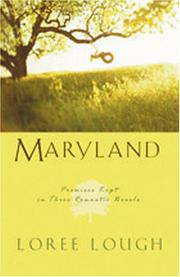 Cover of: Maryland: Pocketful of Love/Pocketful of Promises/The Wedding Wish (Heartsong Novella Collection)