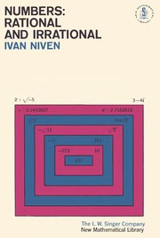 Cover of: Numbers: rational and irrational | Ivan Niven