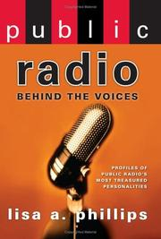 Cover of: Public radio | Lisa A. Phillips