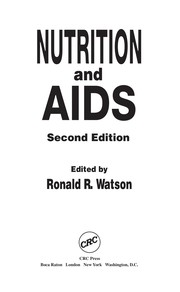 Cover of: Nutrition and AIDS