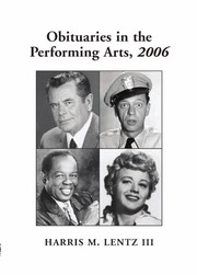 Cover of: Obituaries in the performing arts, 2006