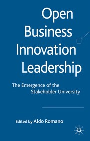 Open business innovation leadership