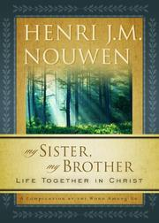 Cover of: My sister, my brother