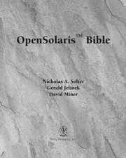 Cover of: OpenSolaris bible