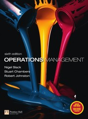 Cover of: Operations management | Nigel Slack
