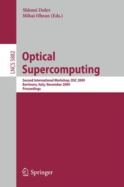 Cover of: Optical SuperComputing | Shlomi Dolev