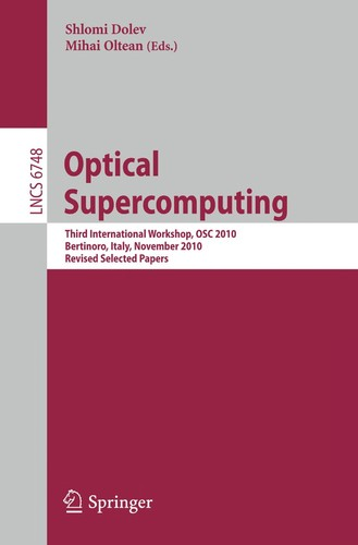 Optical Supercomputing by Shlomi Dolev