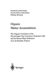 Cover of: Organic Matter Accumulation | Elisabeth Lallier-Verges