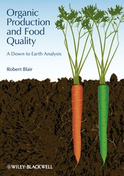 Cover of: Organic production and food quality | Robert Blair