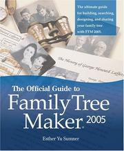 Cover of: The official guide to Family tree maker 2005 | Esther Yu Sumner