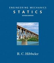 Cover of: Engineering Mechanics - Statics (10th Edition) | Russell C. Hibbeler
