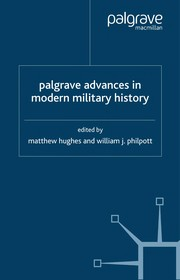 Cover of: Palgrave advances in modern military history | Hughes, Matthew