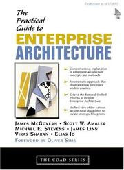 Cover of: A practical guide to enterprise architecture