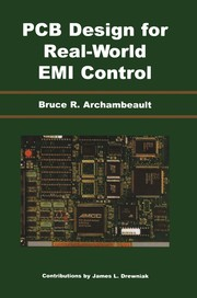 Cover of: PCB design for real-world EMI control | Bruce Archambeault