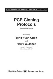 Cover of: PCR cloning protocols |