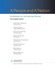 Cover of: A people and a nation