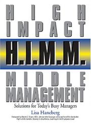 Cover of: H.I.M.M. - High Impact Middle Management: Solutions for Today's Busy Managers