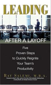 Cover of: Leading After A Layoff | Ray Salemi