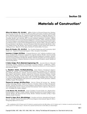 Cover of: Materials of construction | Oliver W. Siebert