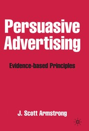 Cover of: Persuasive Advertising