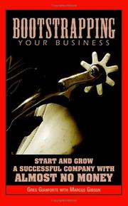 Cover of: Bootstrapping Your Business | Greg Gianforte