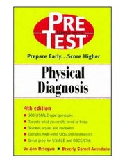Cover of: Physical Diagnosis |