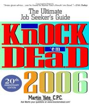 Cover of: Knock