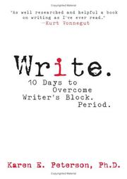 Cover of: Write