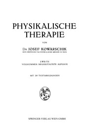 Cover of: Physikalische Therapie