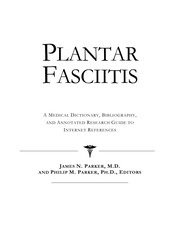 Cover of: Plantar fascitis | James N. Parker
