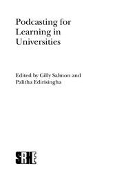 Cover of: Podcasting for learning in universities | Gilly Salmon