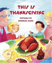 Cover of: This is Thanksgiving | Jean Little
