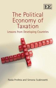 Cover of: The political economy of taxation | Paola Profeta