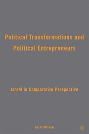 Cover of: Political transformations and political entrepreneurs | Assaf Meydani