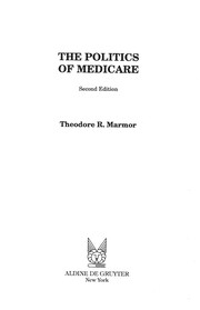 Cover of: The politics of medicare
