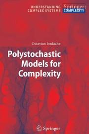Cover of: Polystochastic Models for Complexity | Octavian Iordache
