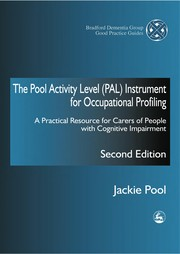Cover of: The Pool activity level (PAL) instrument for occupational profiling | Jackie Pool