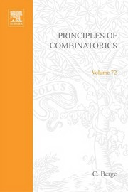 Cover of: Principles of combinatorics