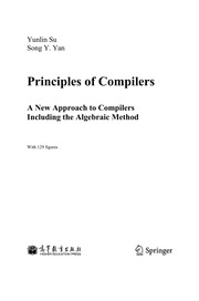 Cover of: Principles of Compilers | Yunlin Su