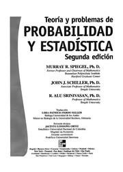Cover of: Probabilidad y Estadistica - 2 Edicion