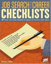Cover of: Job Search and Career Checklists