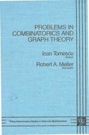 Cover of: Problems in combinatorics and graph theory | Ioan Tomescu