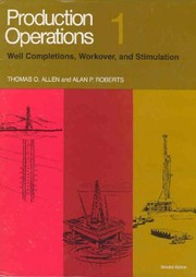 Cover of: Production Operations | Thomas O. Allen