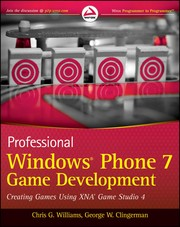 Cover of: Professional Windows Phone 7 game development | Chris G. Williams